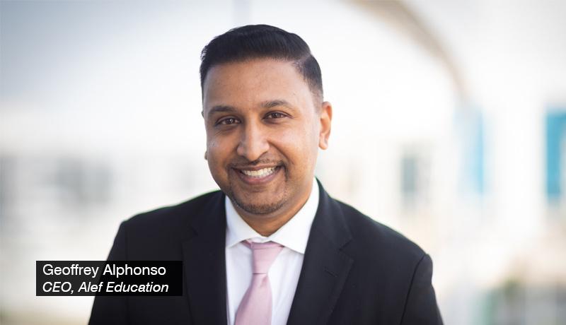 Geoffrey Alphonso - CEO - Alef-Education - techxmedia