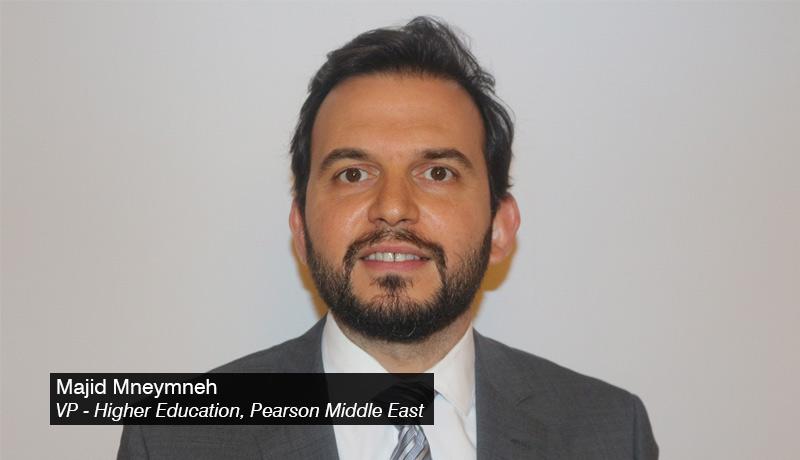 Majid-Mneymneh - Vice-President - Higher-Education - Pearson - Middle-East - techxmedia