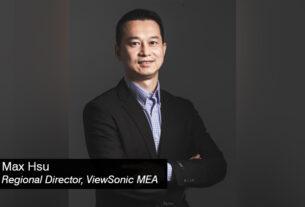 Max-Hsu -Regional-Director - ViewSonic - MEA - techxmedia