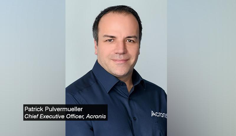 Patrick-Pulvermueller - Chief-Executive-Officer - Acronis - techxmedia