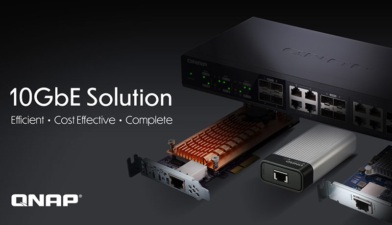 QNAP 10GbE Connectivity - techxmedia
