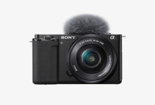 Sony- Interchangeable lens camera - Alpha ZV-E10 - techxmedia