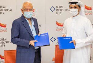 Standard Carpets region - choice carpet factory - Dubai Industrial City - techxmedia