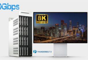 TerraMaster - D16 Thunderbolt 3 professional storage - content creators - techxmedia