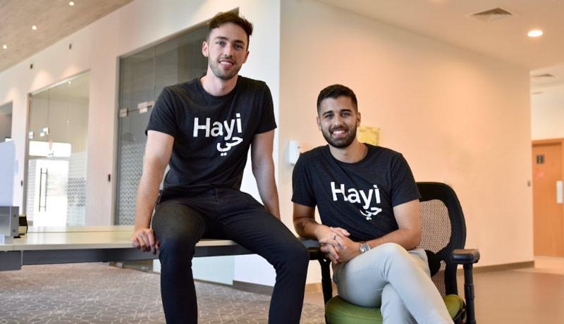 UAE - social network app - Hayi - techxmedia
