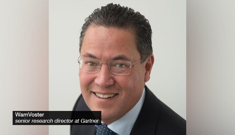 WamVoster - senior research director at Gartner - techxmedia