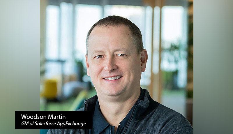 Woodson Martin - GM of Salesforce AppExchange - techxmedia