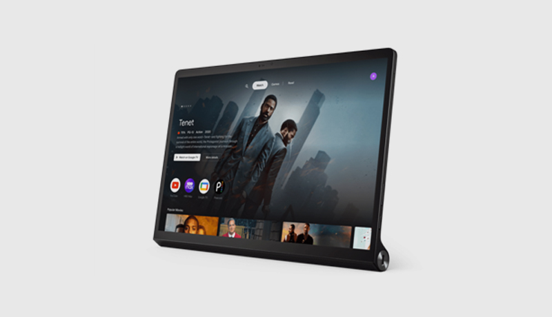 A preview of the new Entertainment Space from Google on the versatile Yoga Tab 13 - techxmedia