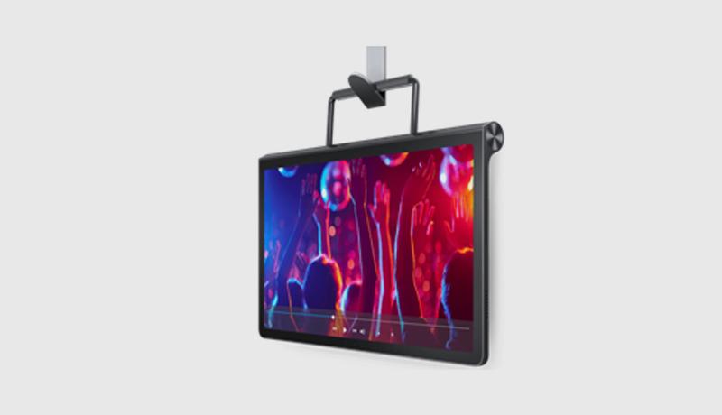 The Yoga Tab 11 in hang mode - techxmedia