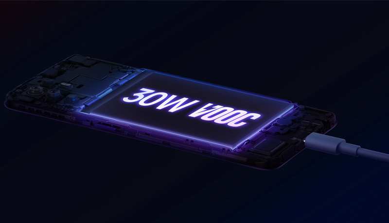 oppo - 30W-VOOC-Flash-Charge-on-Reno5-Z-5G - techxmedia
