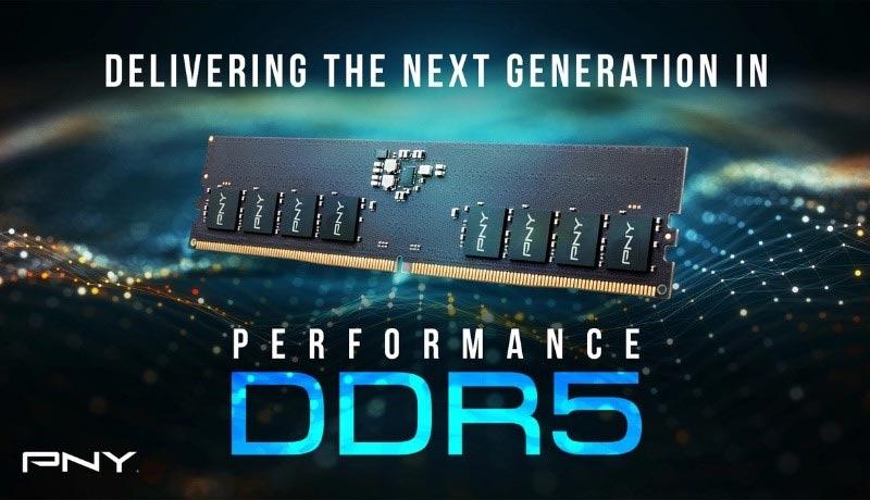 PNY DDR5 4800MHz PC Memory - techxmedia