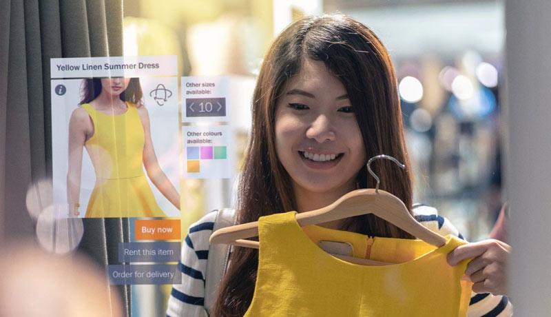 AR deployed shopping experience - UAE - TECHXMEDIA