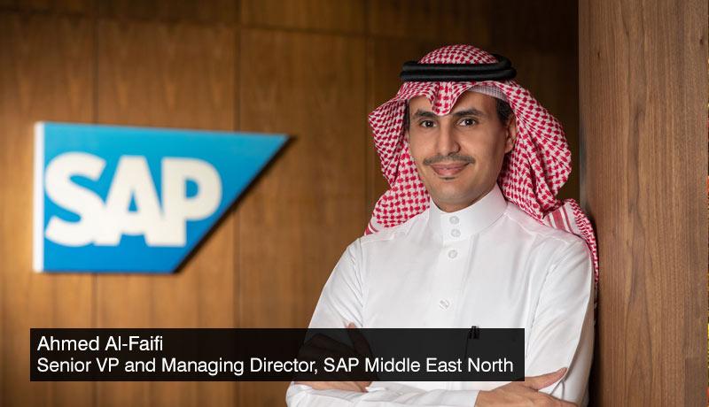 Ahmed Al-Faifi - Senior Vice President and Managing Director - SAP Middle East North - techxmedia