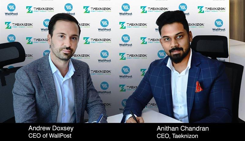Andrew-Doxsey - CEO - WallPost - Anithan Chandran - CEO - Taeknizon - techxmedia