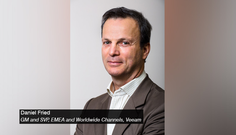 Daniel Fried - Veeam - techxmedia
