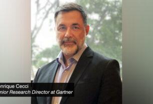 Henrique Cecci - senior research director at Gartner - techxmedia