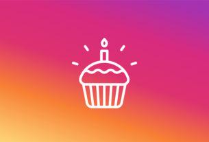 Instagram - users' birthdays - techxmedia