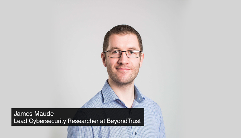 James-Maude,-Lead-Cybersecurity-Researcher-at-BeyondTrust - Malware Threat - Windows devices - techxmedia