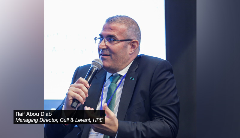 Raif Abou Diab - Managing Director - Gulf & Levant - HPE - techxmedia