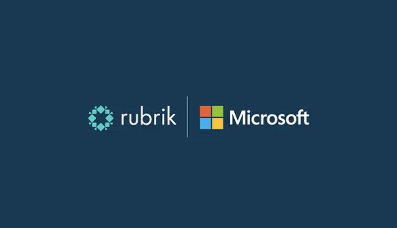 Rubrik - Microsoft - strategic agreement - ransomware - techxmedia