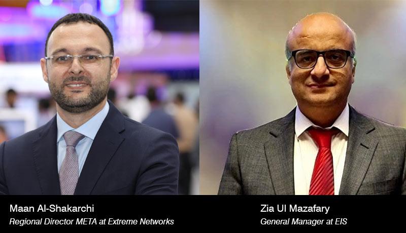 Zia-Ul-Mazafary - General-Manager - EIS - Maan Al-Shakarchi - Regional Director – META - Extreme Networks- techxmedia