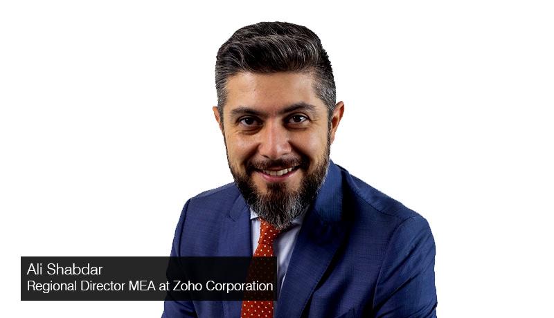 Ali-Shabdar-MEA-Regional-Director-Zoho-Corp -UAE businesses -customer-data-privacy-policies -techxmedia