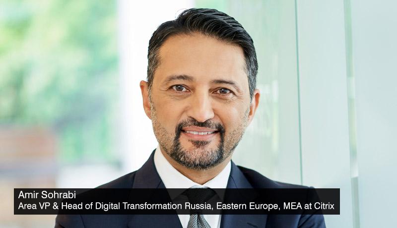 Amir Sohrabi - Area Vice President for Emerging Markets - Citrix - techxmedia