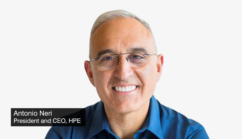 Antonio-Neri-President-CEO-HPE- GreenLake-Edge-to-Cloud Platform powers data modernization -cloud services - techxmedia