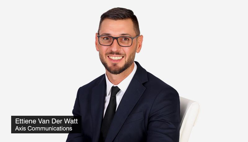 Axis-Communications - Ettiene-Van-Der-Watt - Regional-Director - Middle-East-Africa - participation - Expo-2020 - techxmedia