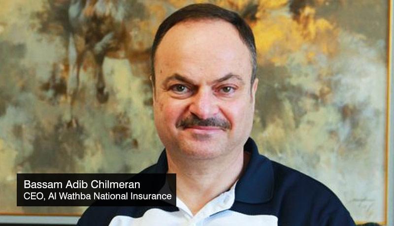 Bassam-Adib-Chilmeran-CEO-Al-Wathba-National-Insurance-Company-25th-year -UAE - techxmedia