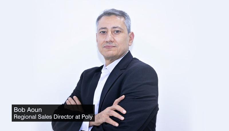 Bob-Aoun-Regional-Sales-Director-at-Poly - Pre-GITEX -techx-Interview -techxmedia