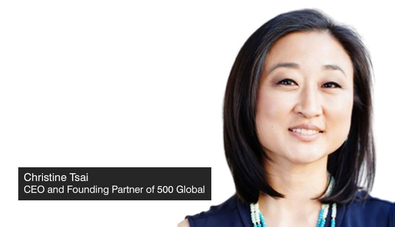 Christine-Tsai - 500-Startups-closes - rebrands - Global - techxmedia