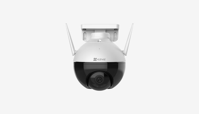 EZVIZ C8C outdoor camera - TECHXMEDIA