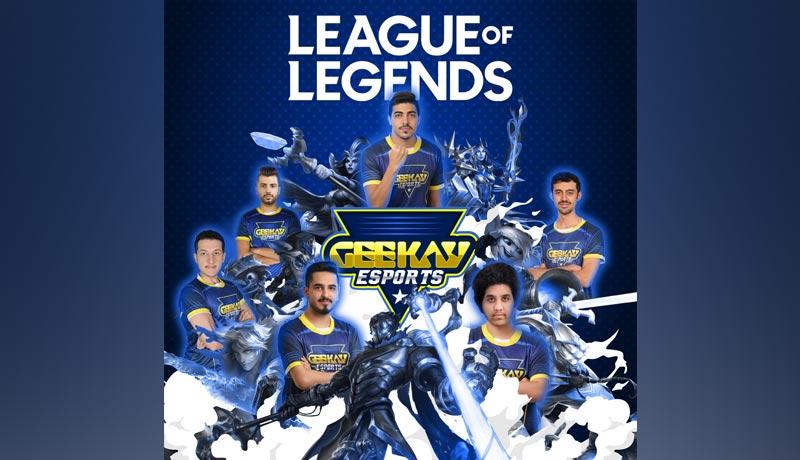 Geekay - MENA - League of Legends - Team Geekay Esports - techxmedia
