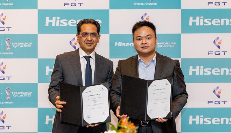 Hisense-distributor- FGT-FZE - middle-east - techxmedia