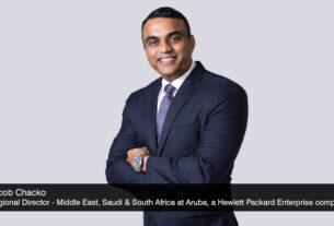 Jacob-Chacko - Regional-Director - Middle-East - Saudi - south-Africa-at-Aruba - Multi-Cloud Connectivity - SD-WAN- Edge - techxmedia