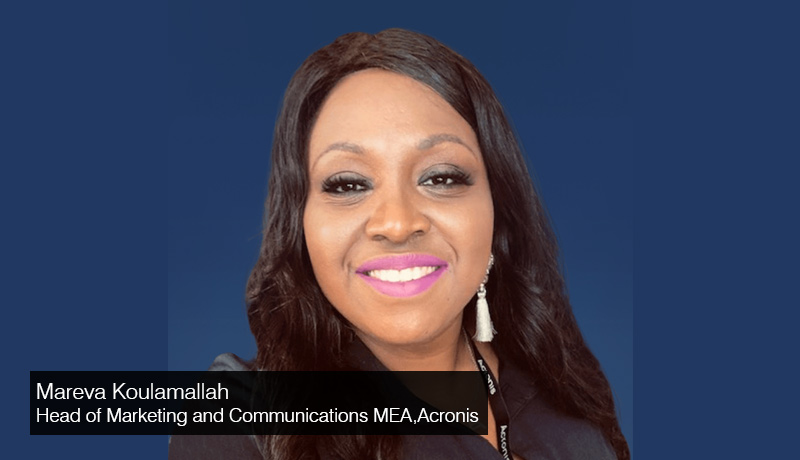 Mareva Koulamallah - Head of Marketing and Communications - Middle East & Africa - Acronis- Pre-GITEX Interview - techxmedia