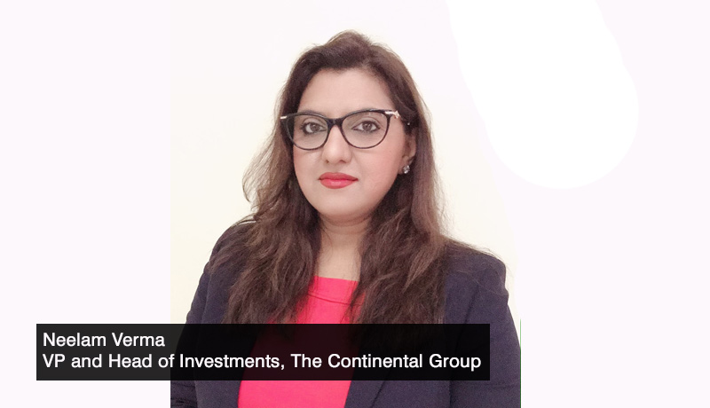Neelam-Verma,-Vice-President-and-Head-of-Investments - The Continental Group - ESG - technology sectors - investment - Asian Markets - techxmedia