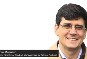 Pablo-Molinero - Senior-Director-of-Product-Management - Telcos - Fortinet - 5G Private Mobile Networks - Security - techxmedia