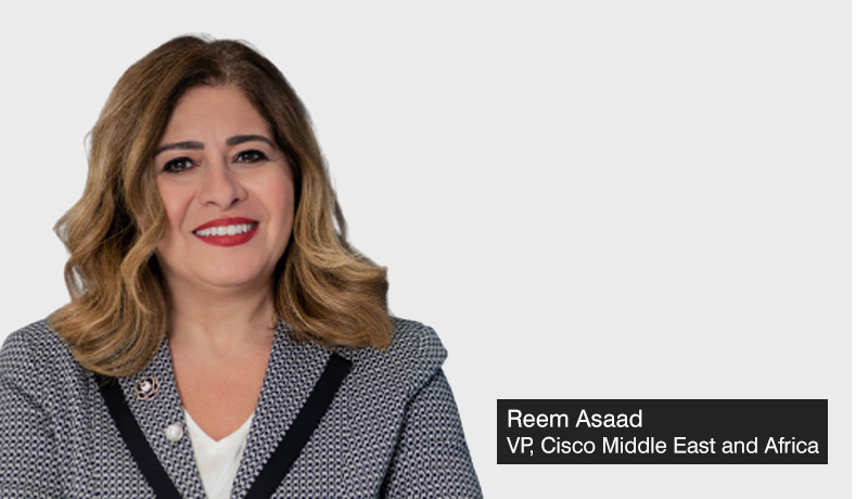 Reem-Asaad-Vice-President-Cisco-Middle-East-and-Africa - greenhouse gas emissions - net-zero -techxmedia