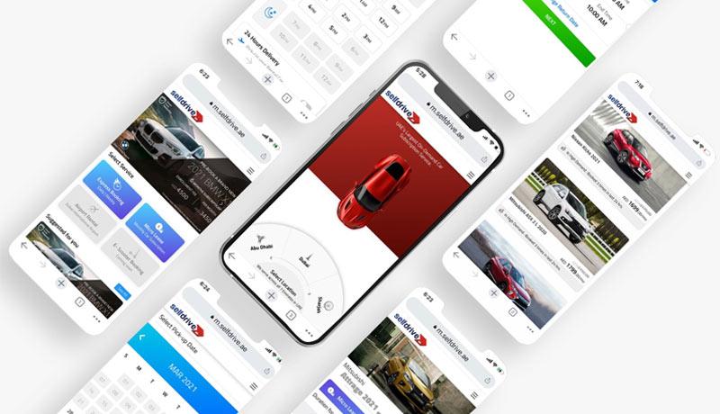 Selfdrive - Mobility App - Car Rentals - techxmedia