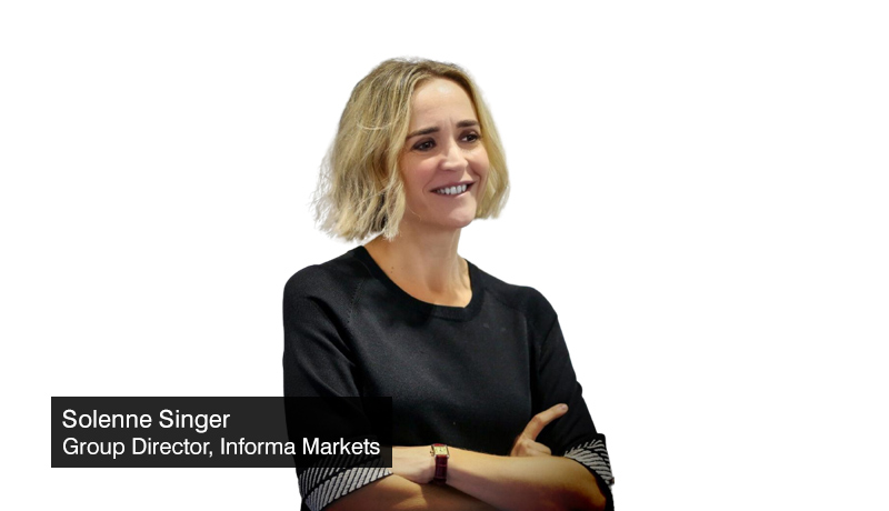 Solenne Singer - Group Director - Informa Markets - Arab Health - Medlab Middle East - techxmedia