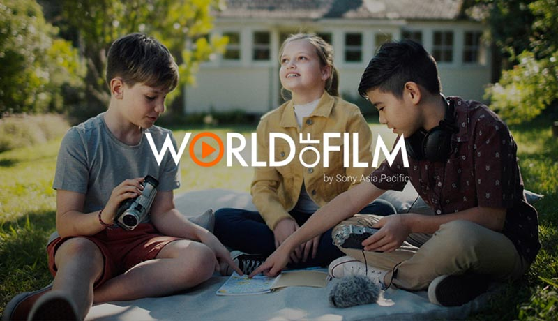 Sony Middle East - Africa - World of Film Campaign - techxmedia