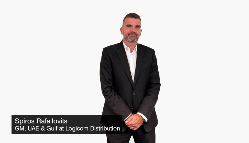 Spiros-Rafailovits - General-Manager - UAE- Gulf - Logicom-Distribution -Dell Technologies - distribution deal - gitex 2021 - techxmedia
