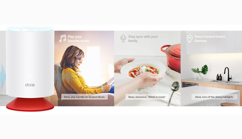 TP-Link - WiFi 6 -Mesh-System-Alexa -integration - techxmedia