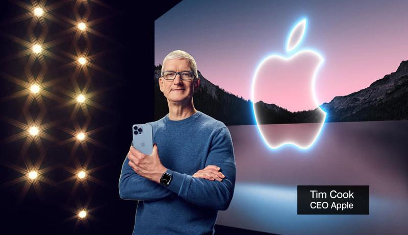 Tim Cook - Apple - CEO - iPhone 13 - iPads - apple watches - techxmedia