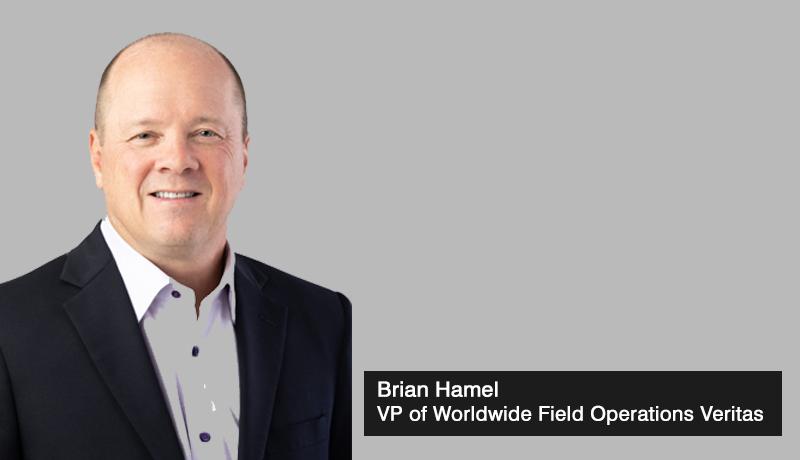 Veritas - Brian Hamel -vice president of Worldwide Field Operations - techxmedia