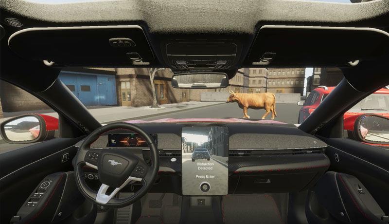 ford - gaming -transform-test-vehicle designs- techxmedia