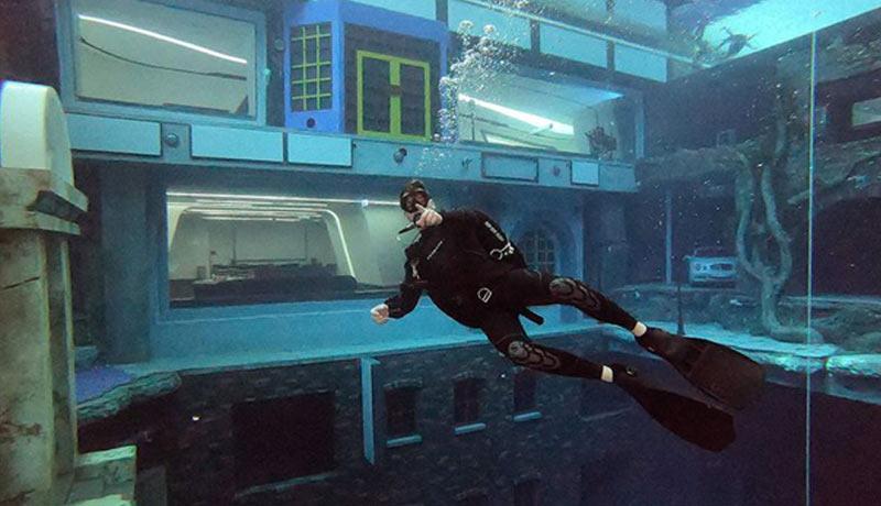 1 - Deep Dive Dubai - World's Deepest Pool - Dubai - technology - techxmedia