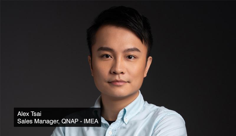 Alex Tsai - Sales Manager - IMEA - QNAP - techxmedia